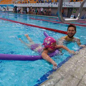 pływanie grzbietem poznan