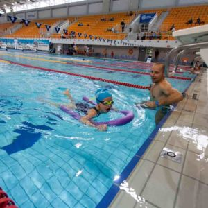 profesjonalne obozy pływackie Poznan
