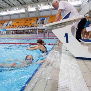 pływanie na grzbiecie Poznan