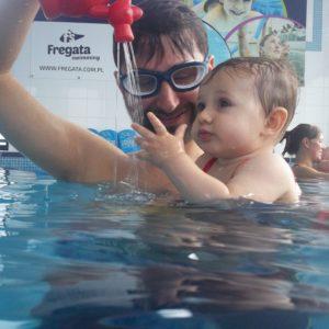 nauka pływania dla niemowlat Poznan