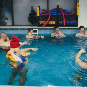 indywidualna nauka pływania łódź