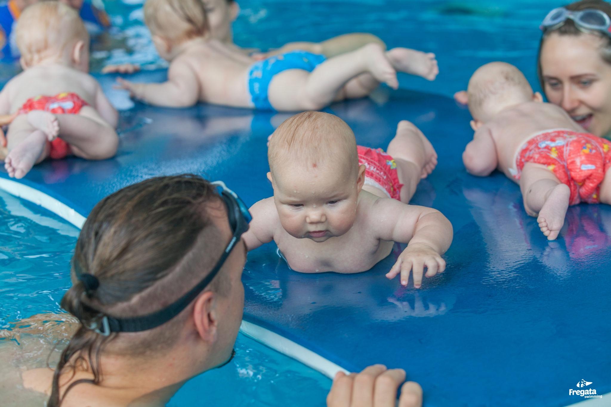 nauka pływania łódź dla dorosłych