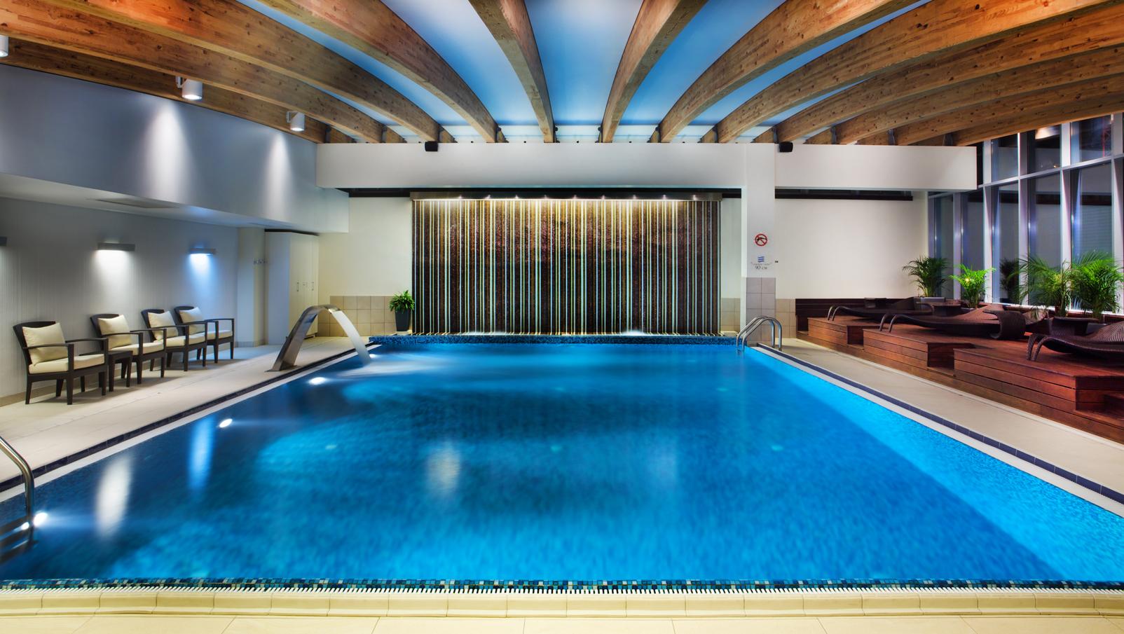 Basen Andersia Hotel nauka pływania
