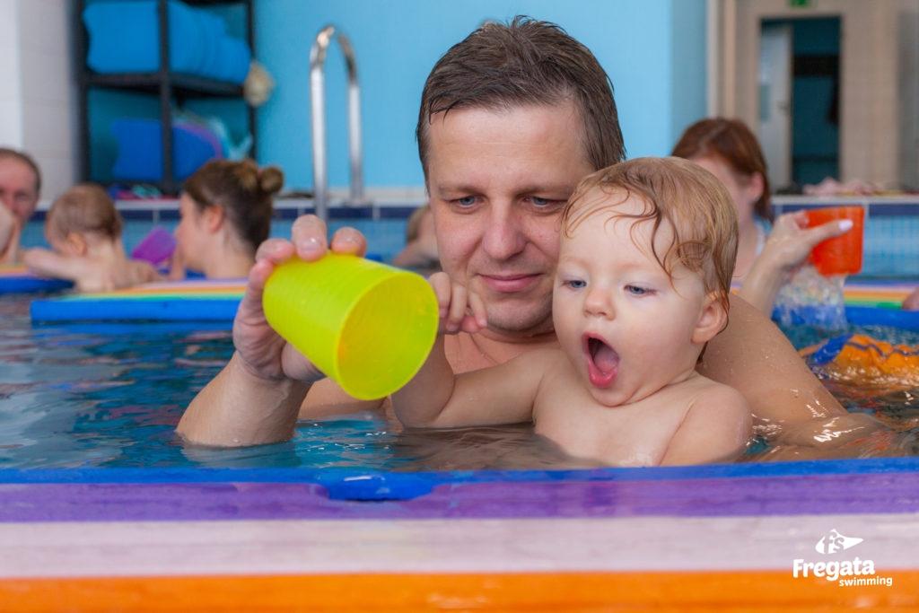 nauka pływania niemowlaki