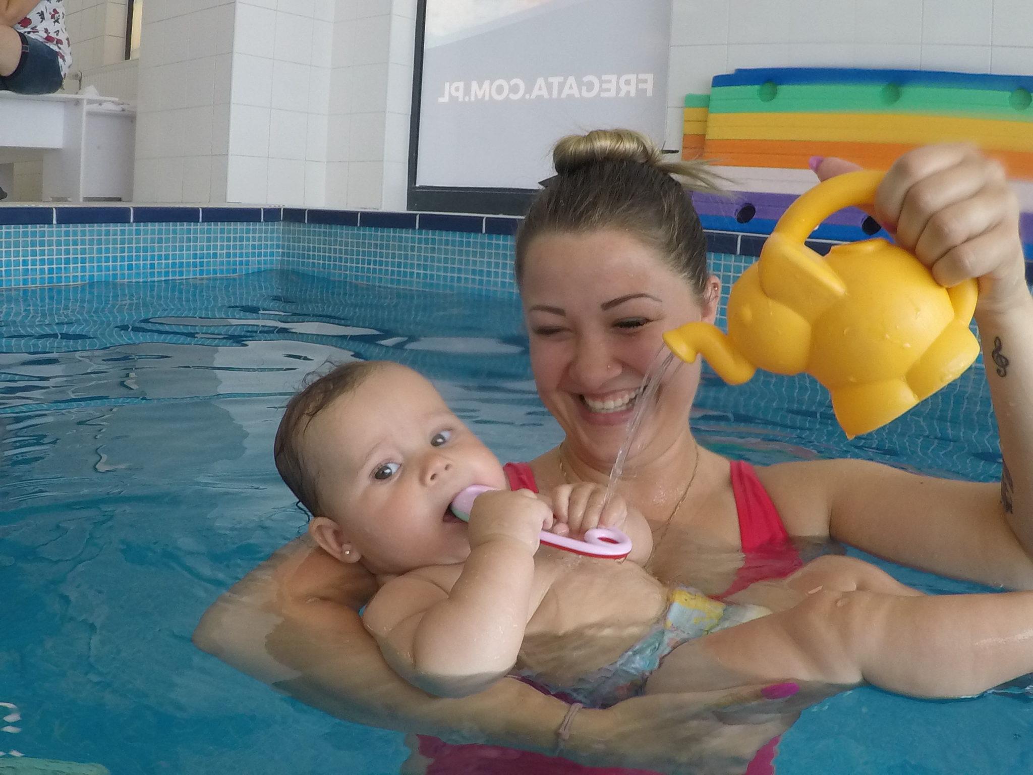 wrocław pływanie dzieci