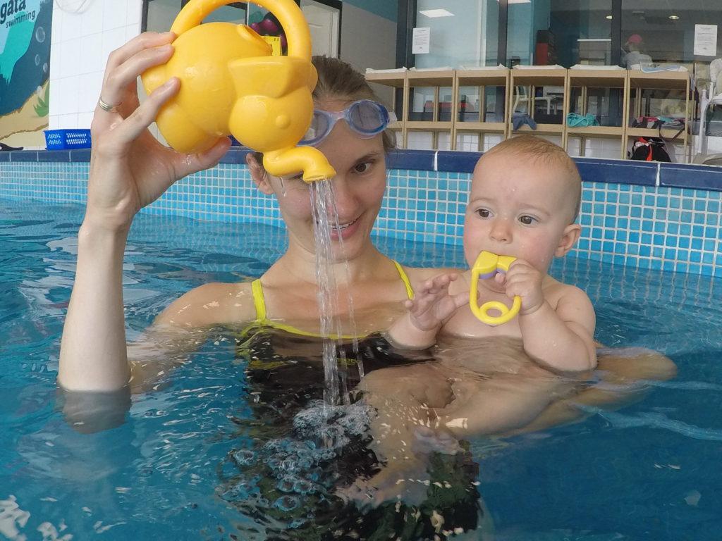 wrocław basen niemowlaki