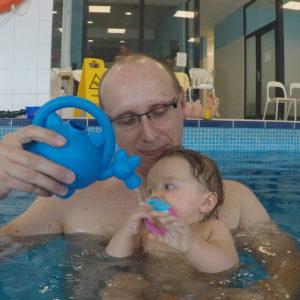 niemowlaki oswajanie z wodą